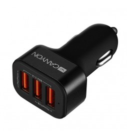 Canyon Triple USB Auto punjač CNE-CCA06B