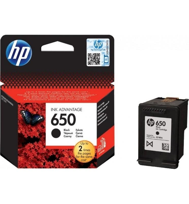 HP tinta CZ101AE (650) crna
