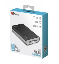 Trust Primo PowerBank 8800 mAh Black