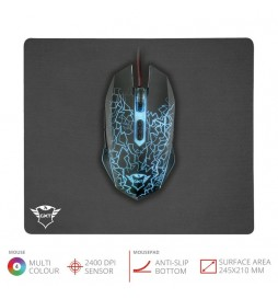 Trust GXT 783 Izza Gaming Mouse & Mouse Pad